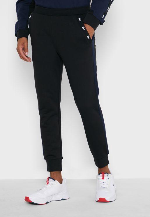 Color Block Logo Tape Sweatpants