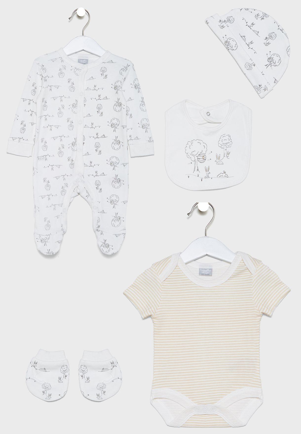 Infant 5 Pack Gift Set