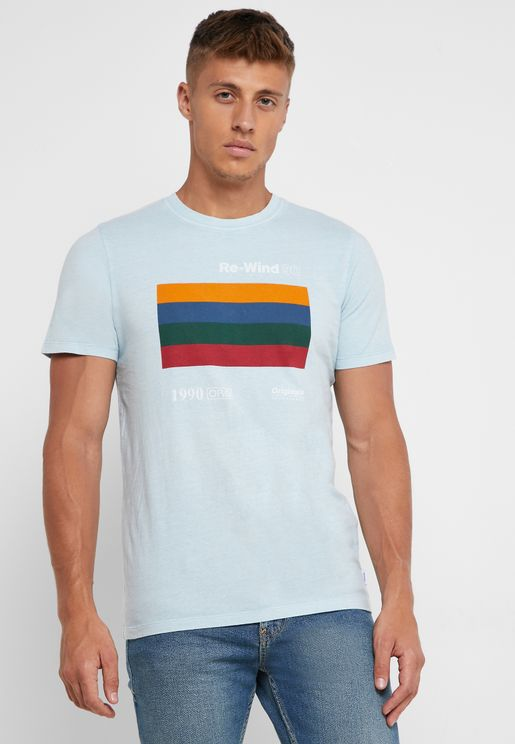 Phony Slim Fit Crew Neck T-Shirt