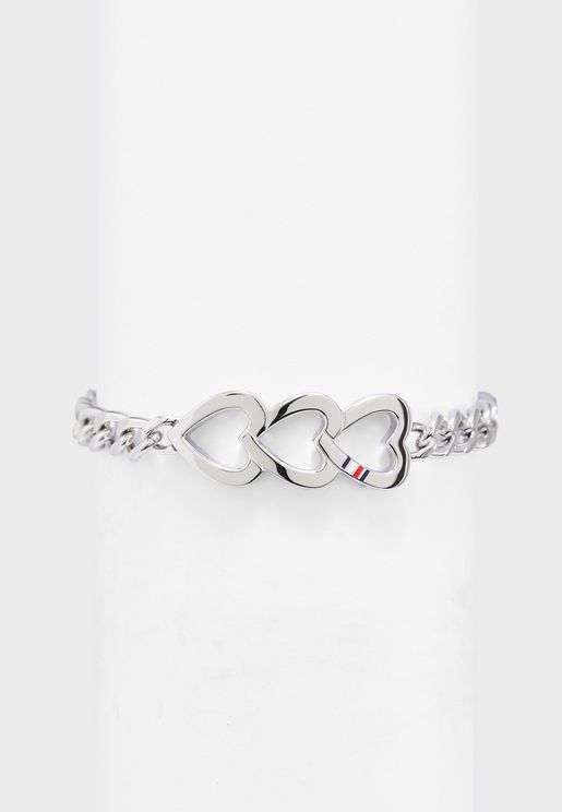 Heart Trio Bracelet