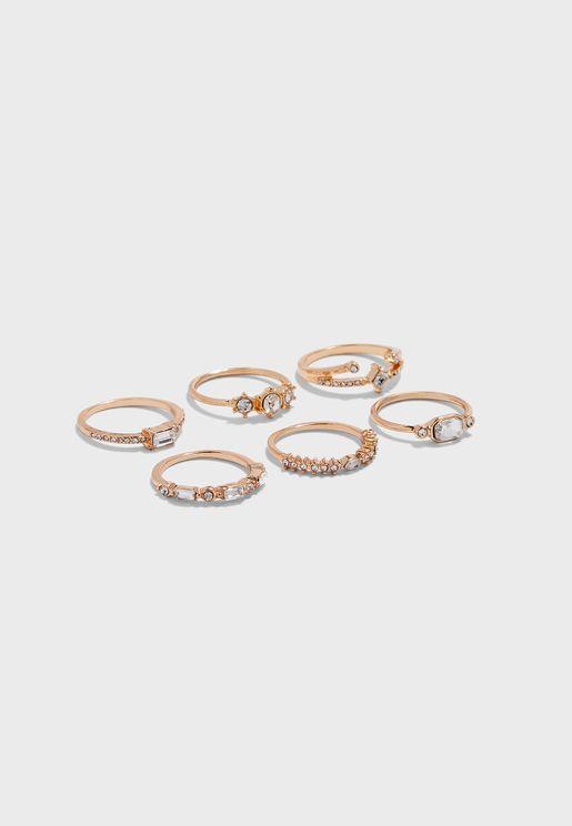 Bralevia Rings Set