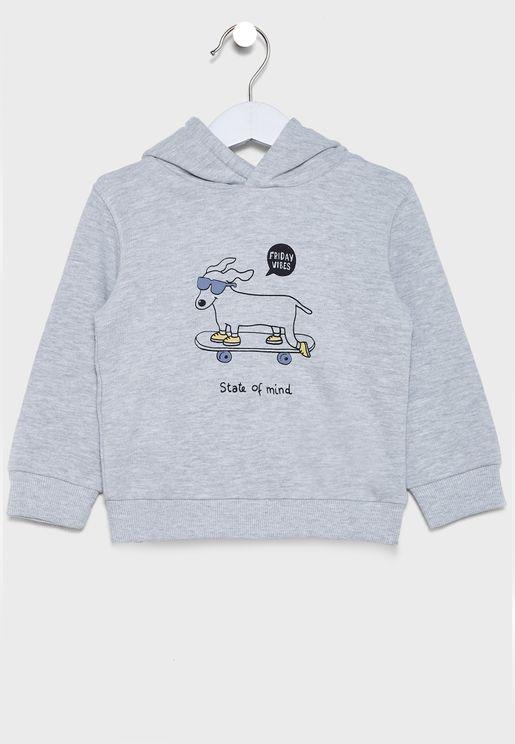 Infant Friday Vibes Sweatshirt