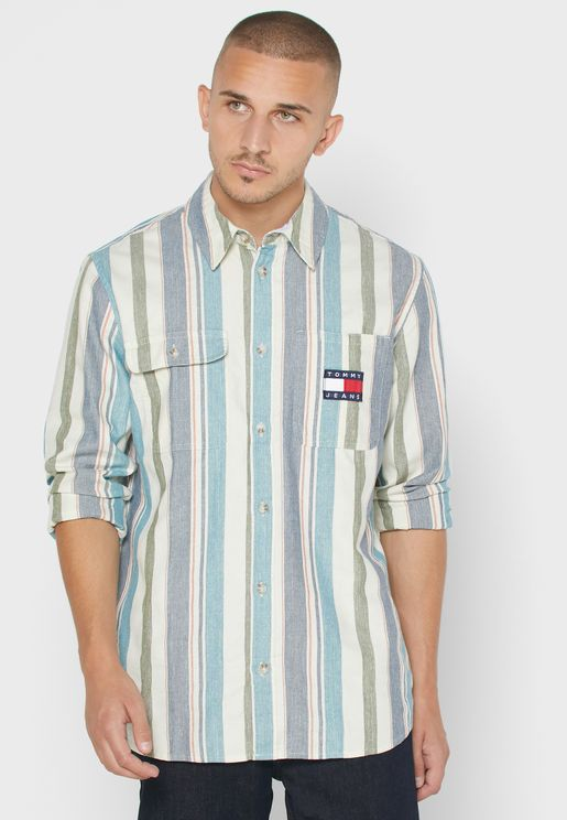 Striped Relaxed Shirt