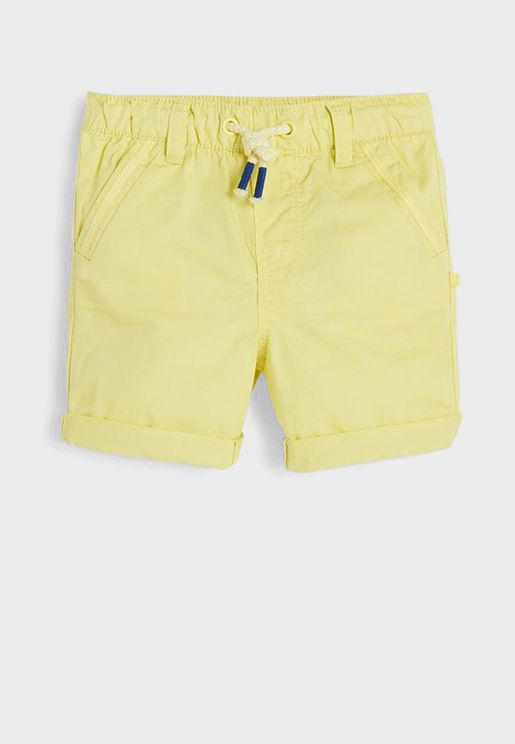 Infant Tied Waist Shorts