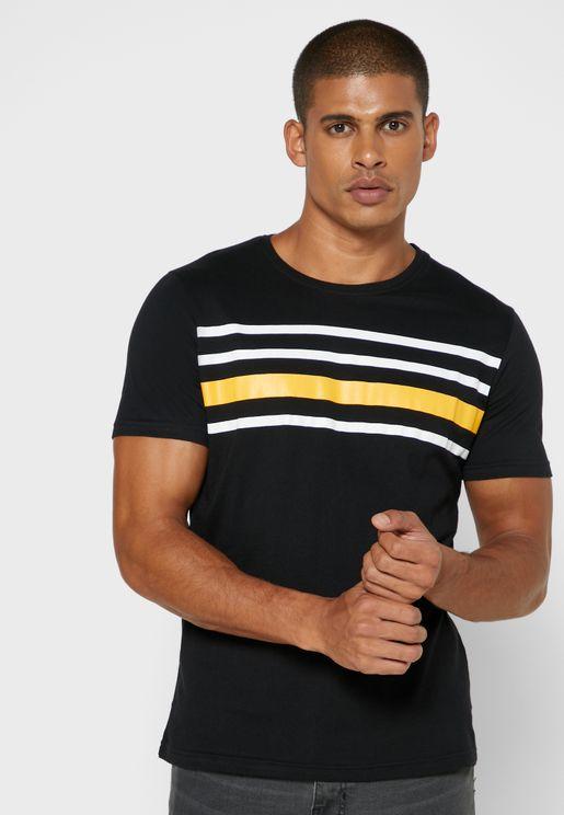 Chest Stripe T Shirt
