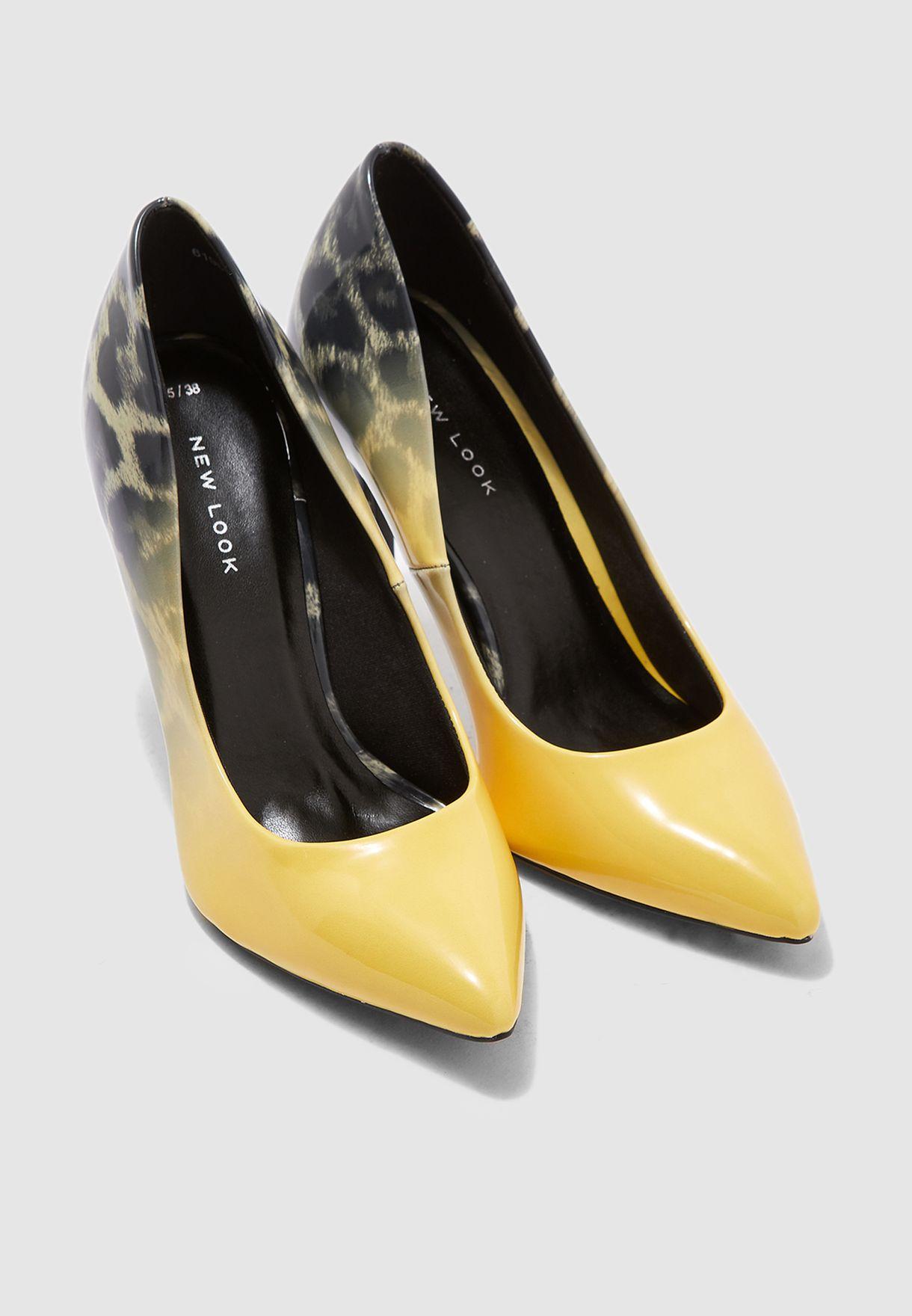 Sombray Pump  - Yellow