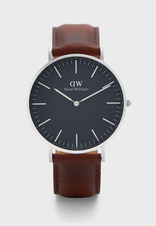 Classic 40 St Mawes Analog Watch