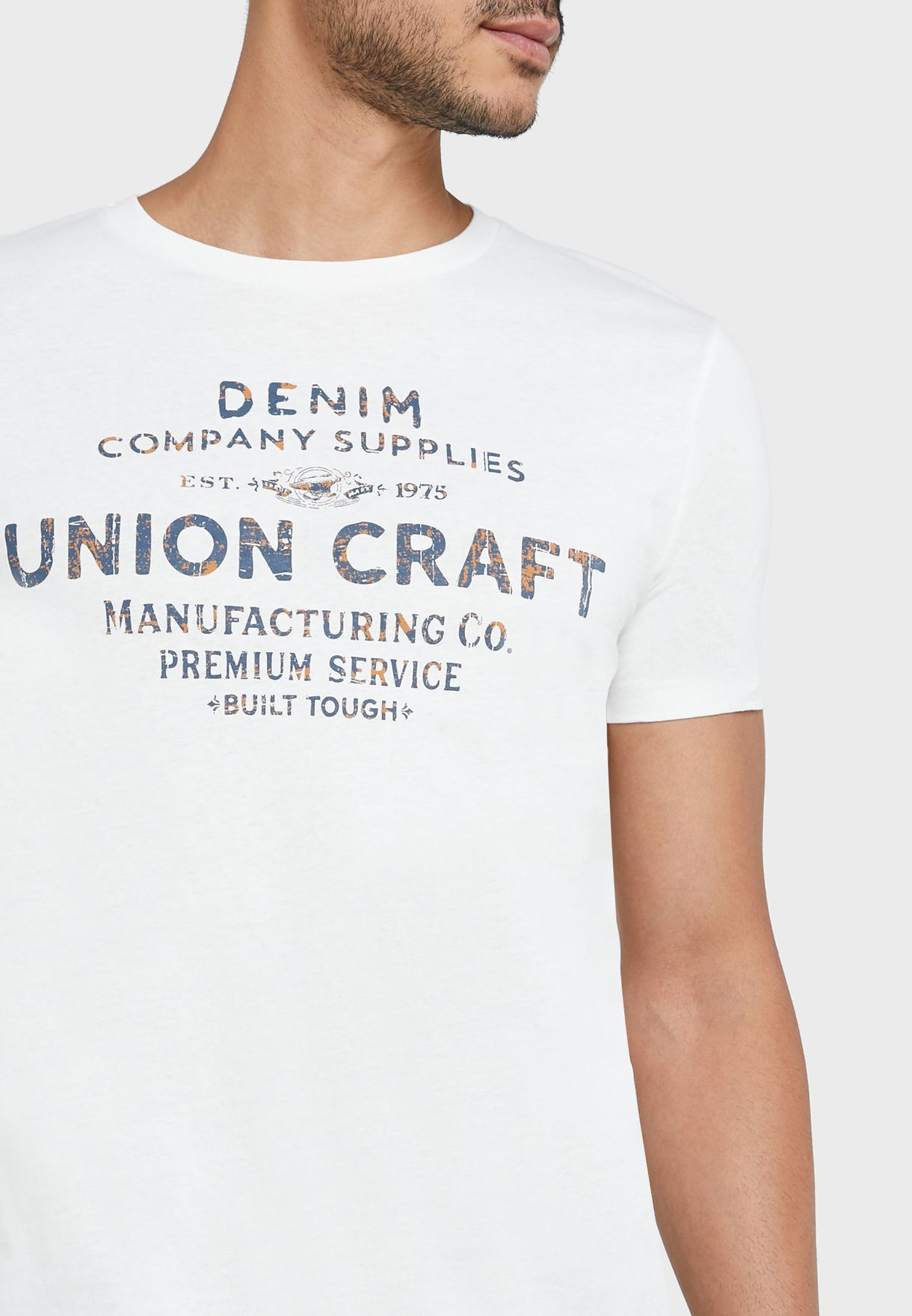Union Craft Crew Neck T-Shirt