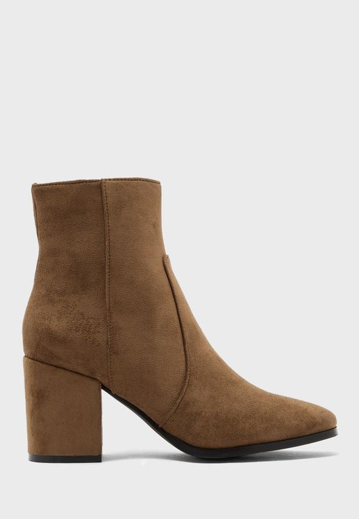 Rea High Heel Ankle Boot