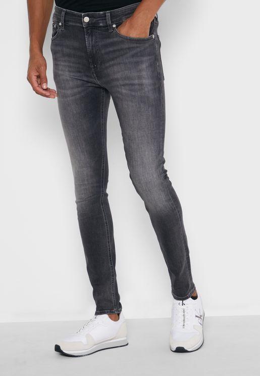 Light Wash Super Skinny Jeans