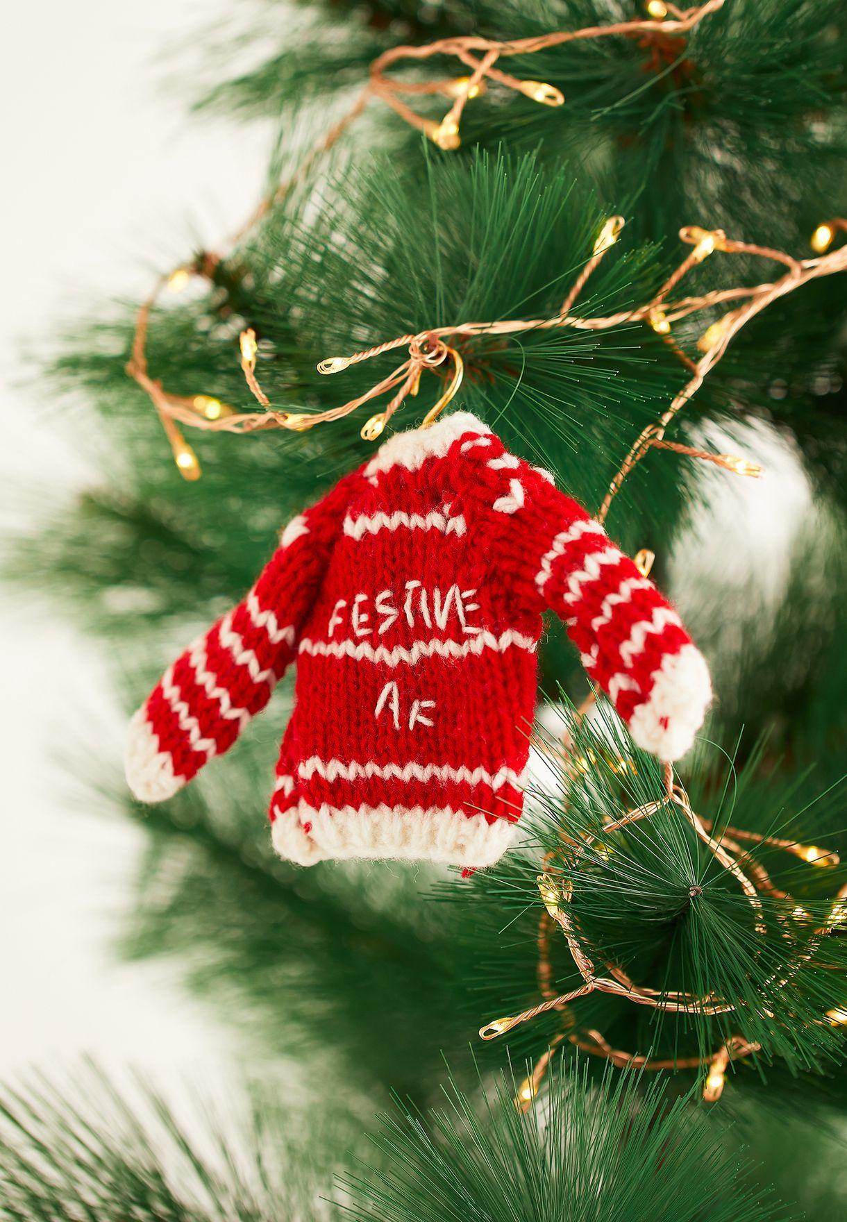 Christmas Festive Sweater Bauble