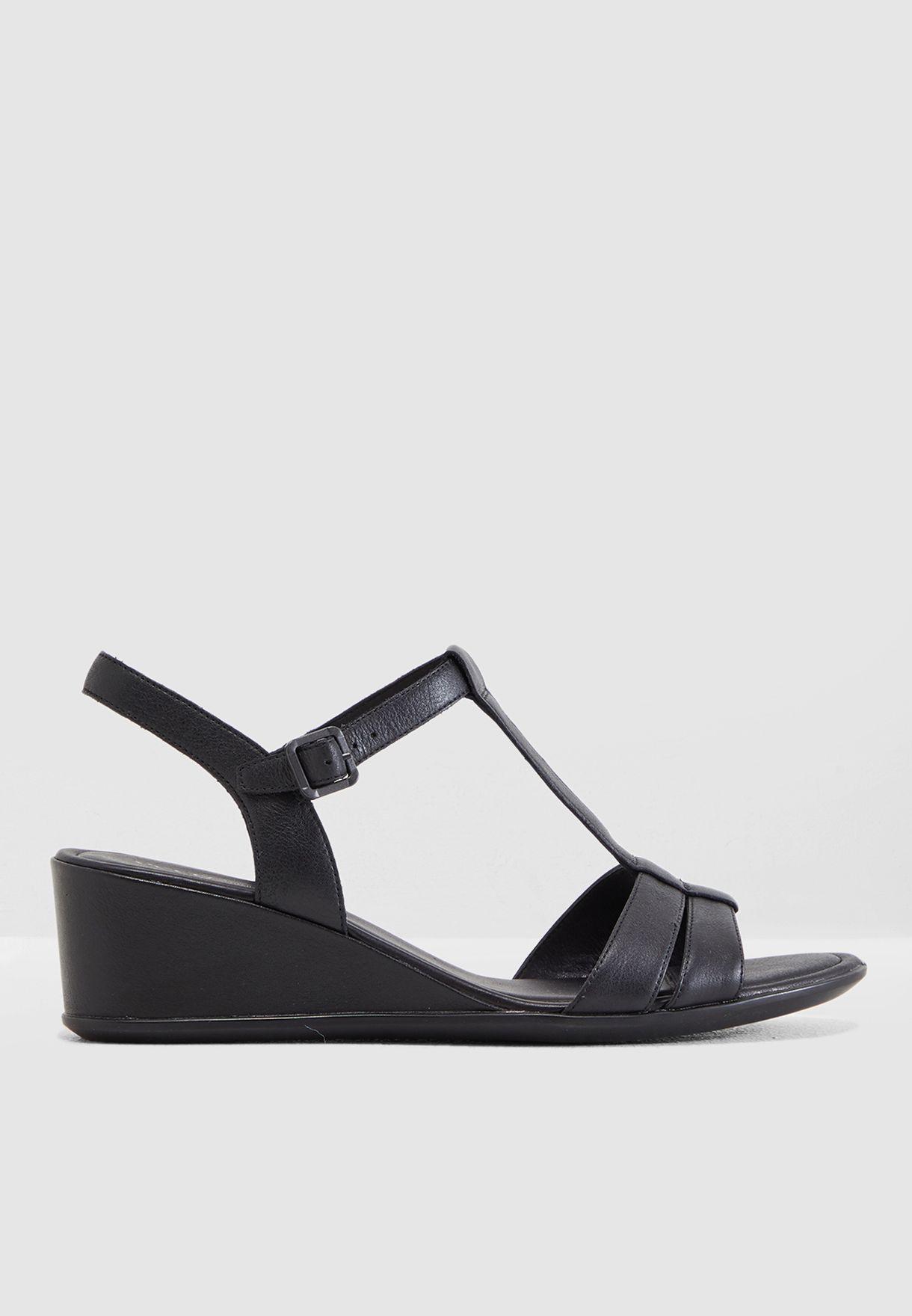 T-Bar Wedge Sandal