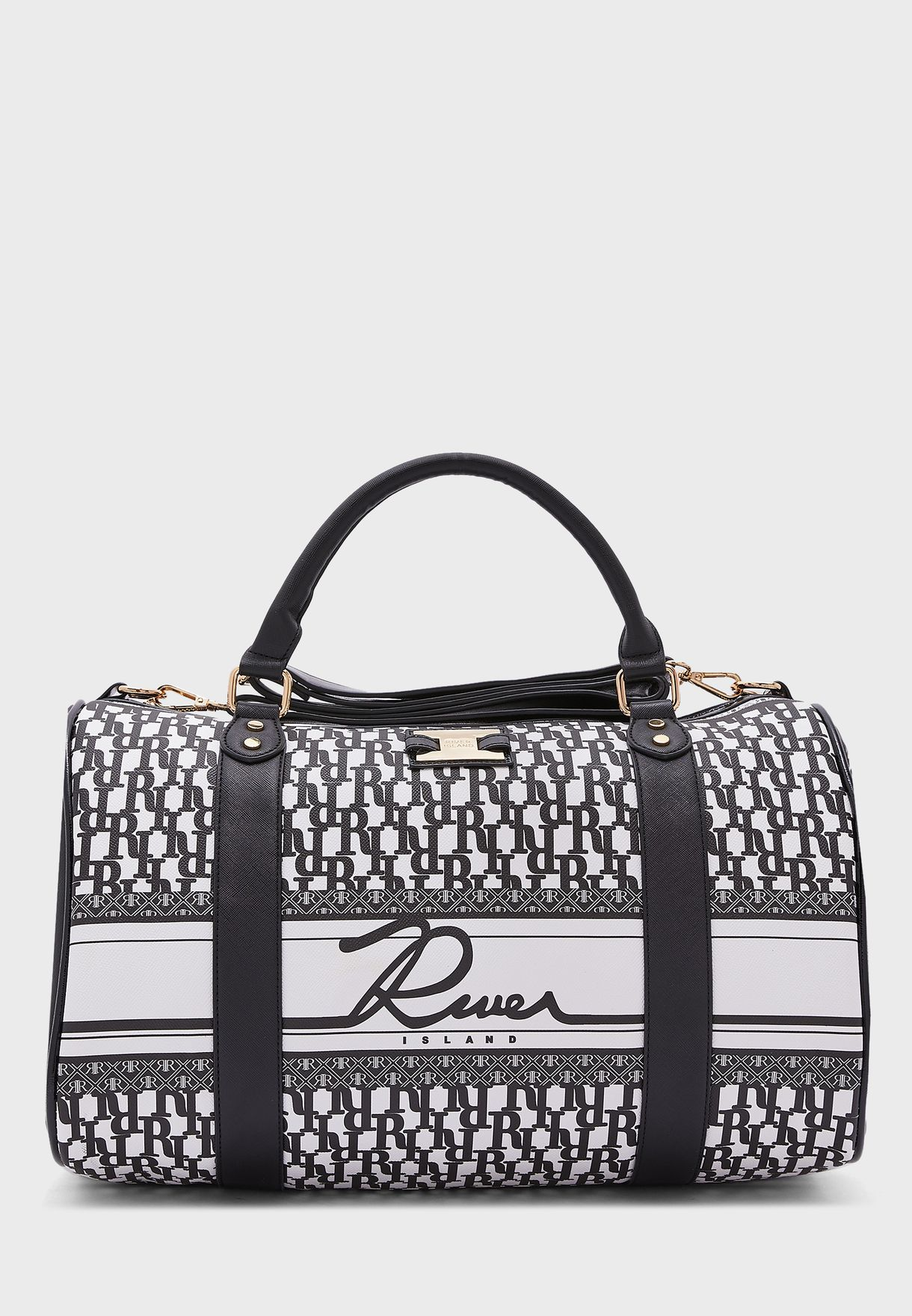 5244 Monogram Barrel Bag