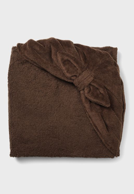 Chocolate Hooded Towel