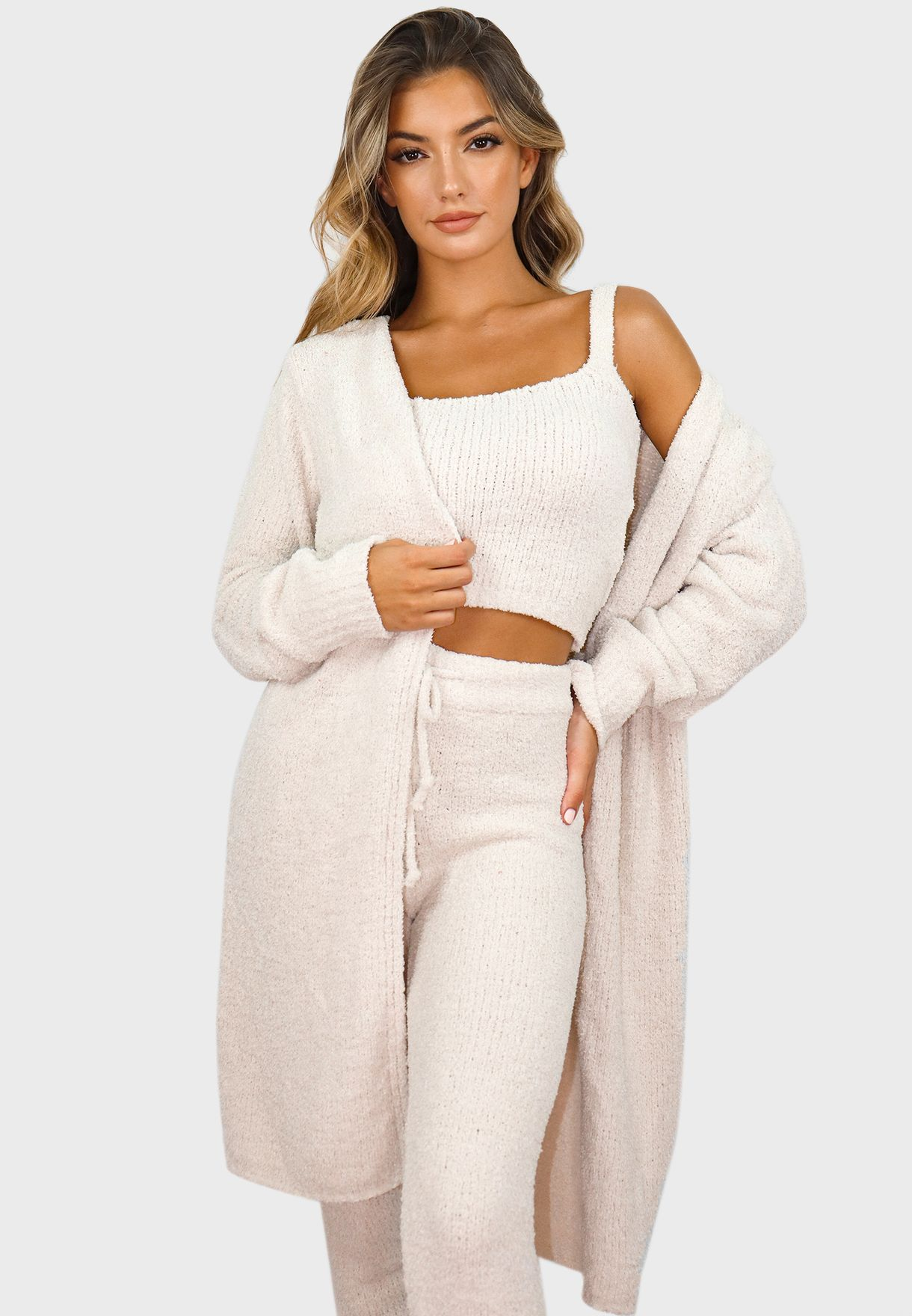 Knitted Cardigan Co Ord