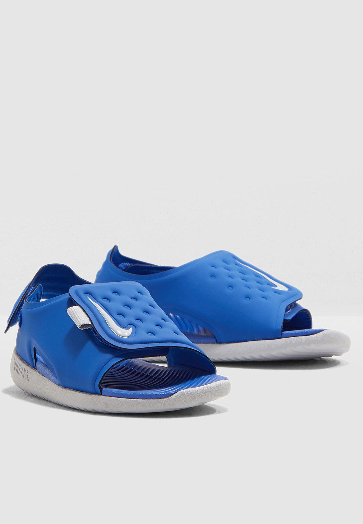 939b6b2d2233 Shop Nike blue Infant Sunray Adjust 5 AJ9077-400 for Kids in UAE ...