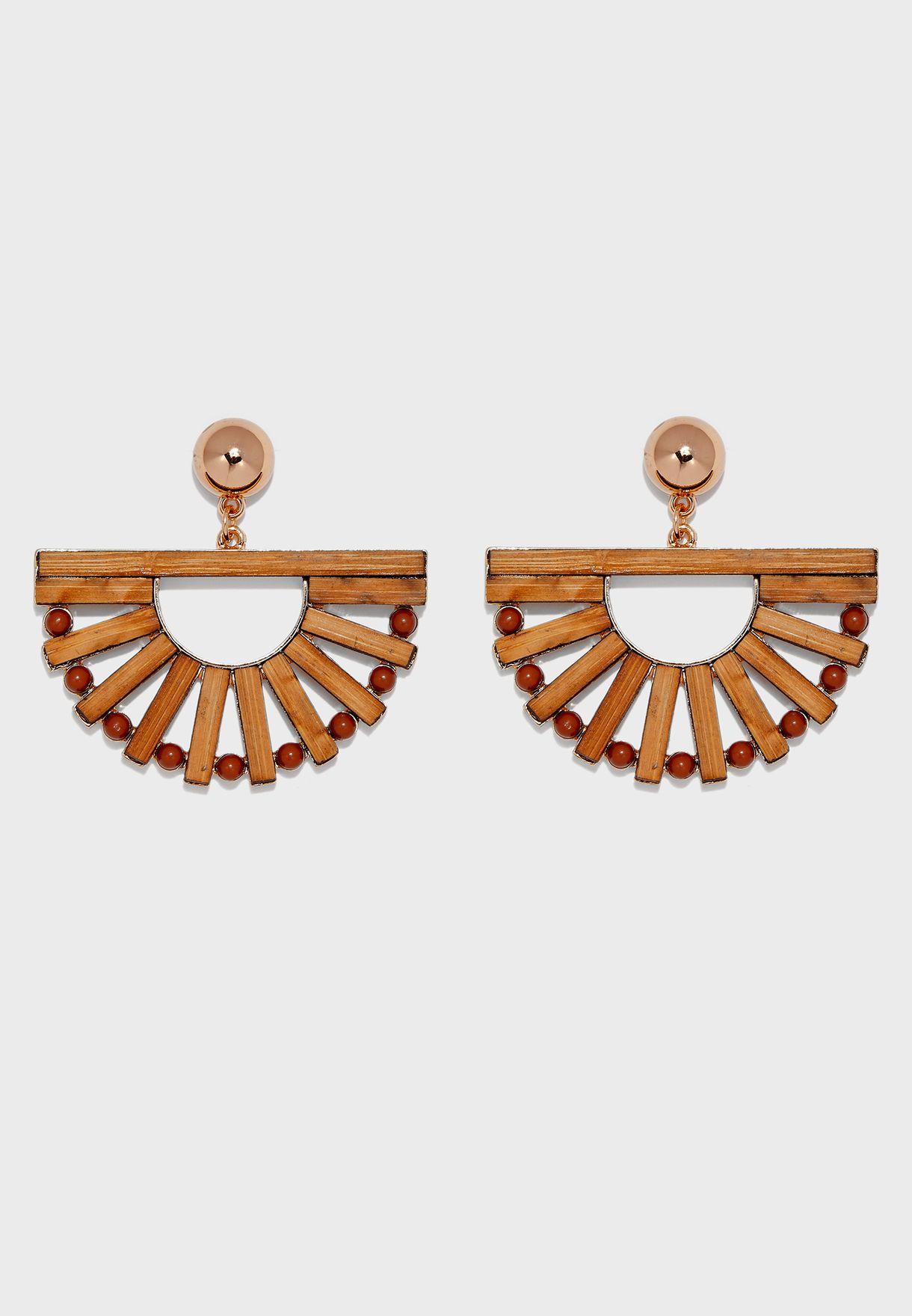 Viesite Pierced Drop Earrings