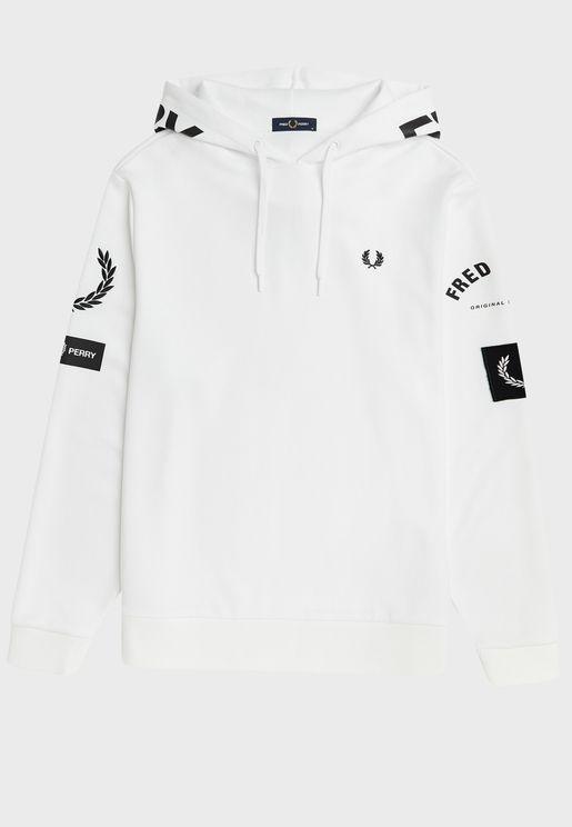 Bold Branding Hooded Sweatshirt