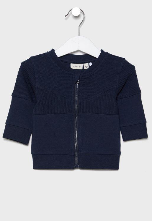 Infant Ribbed Bomber Jacket