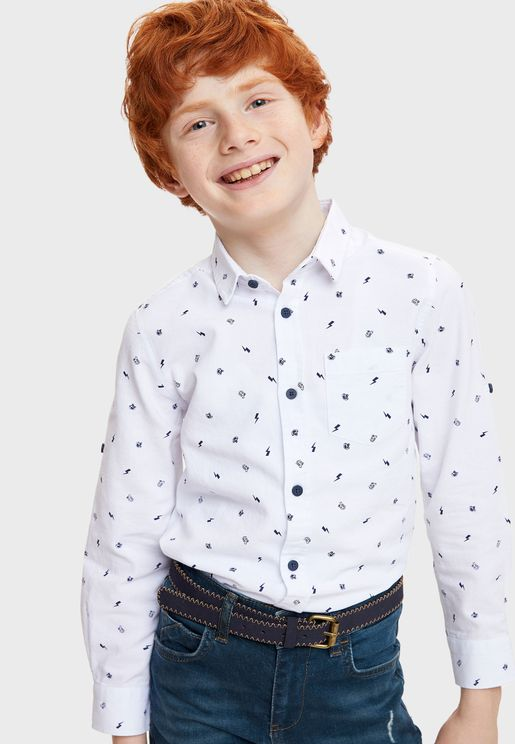 Kids Printed Shirt