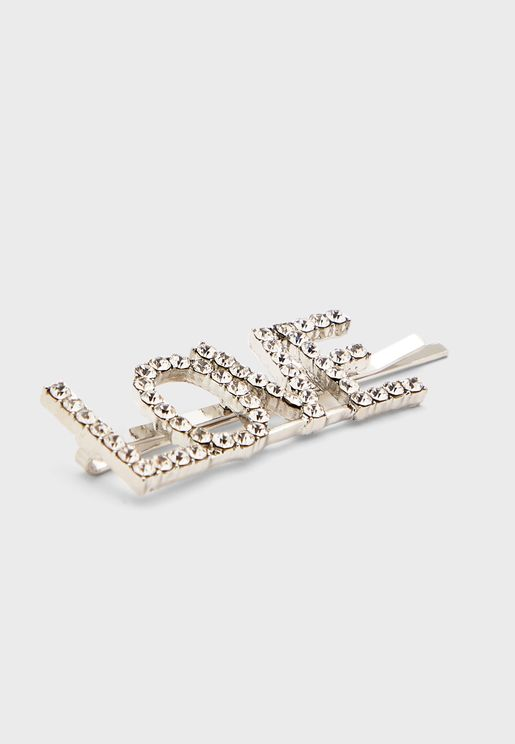 Love Slide Hair Clip