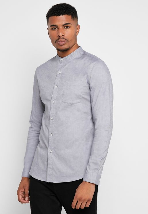 Oxford Skinny Fit Shirt