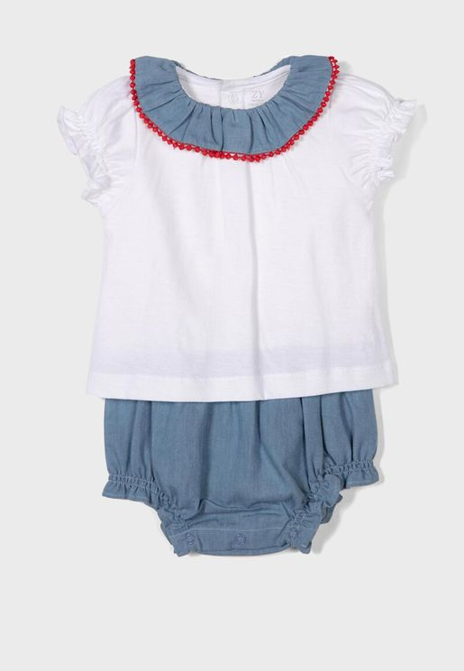 Infant Combined Romper