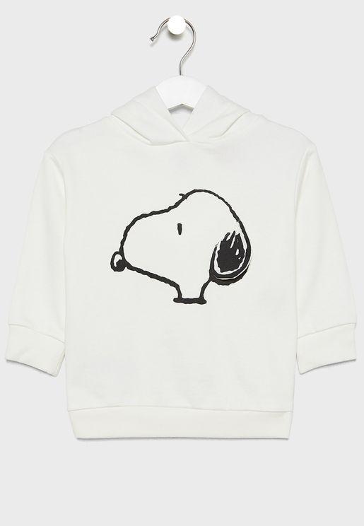 Kids Snoopy Hoodie