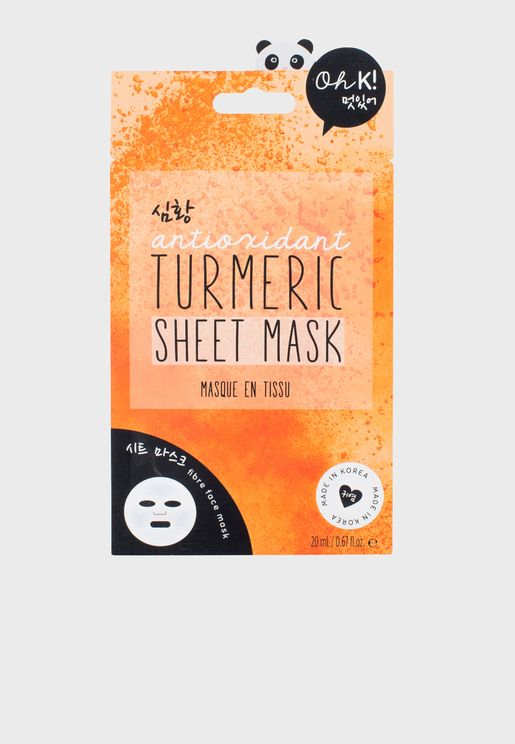 Turmeric Sheet Mask