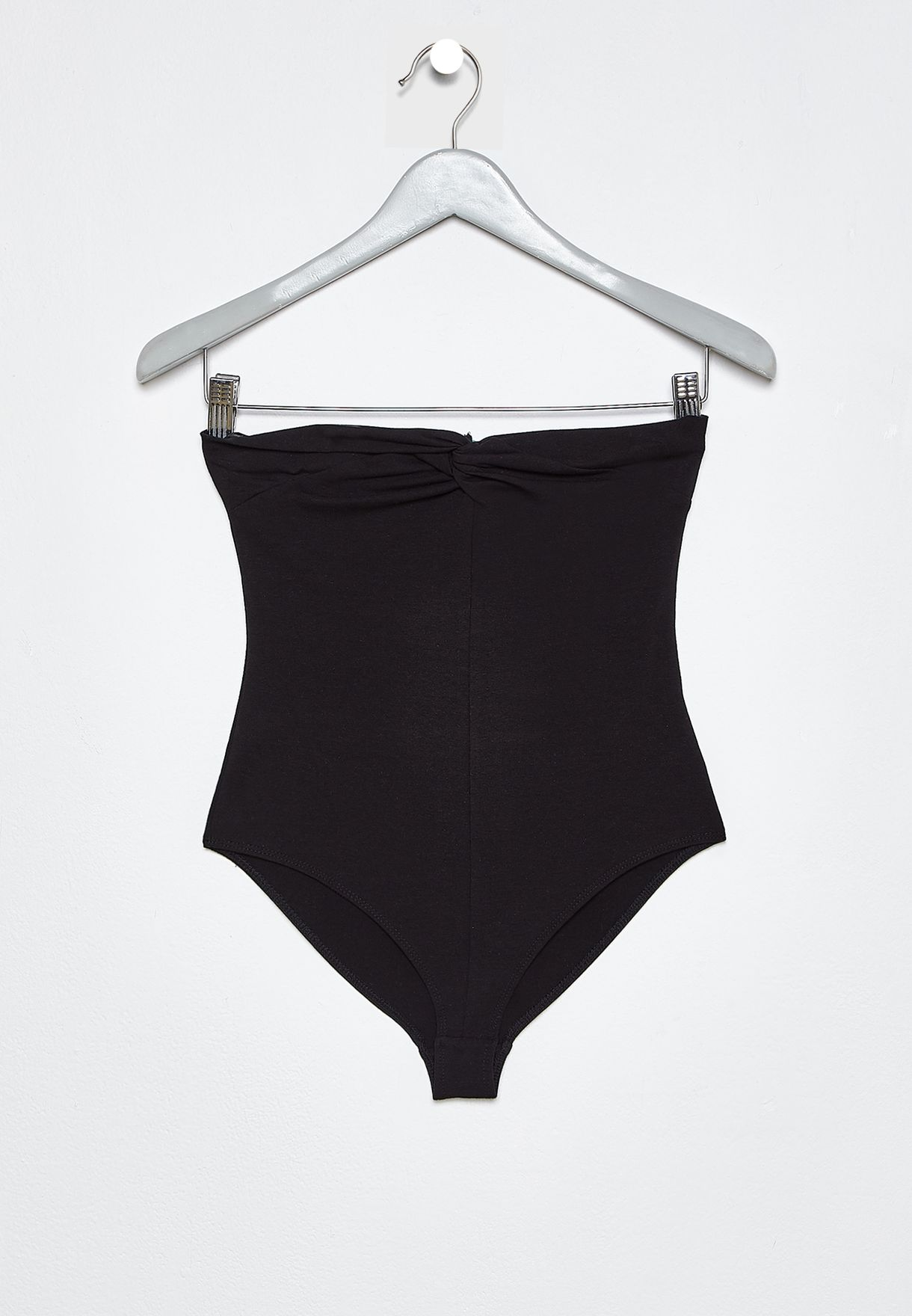 Front Twisted Bandeau Body