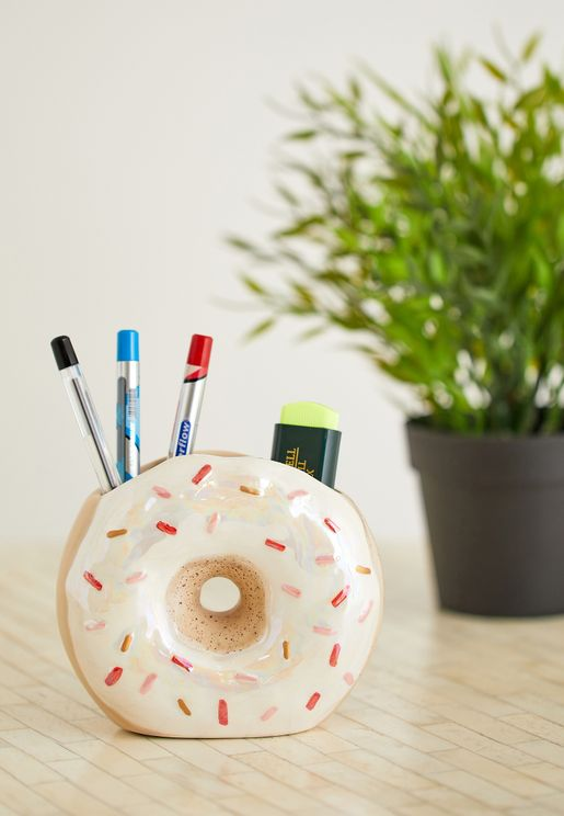 Donut Pen Holder