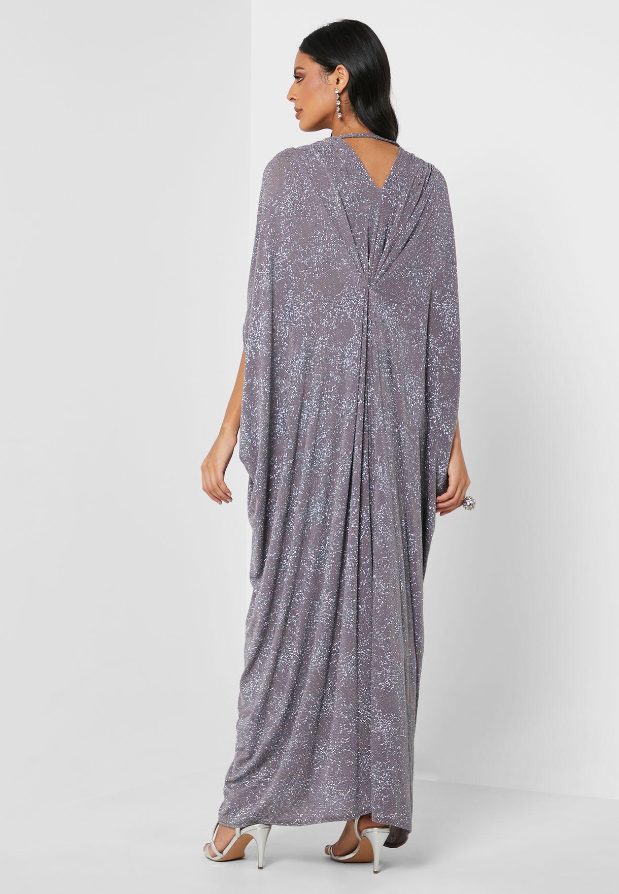 Pleated Jalabiya Dress