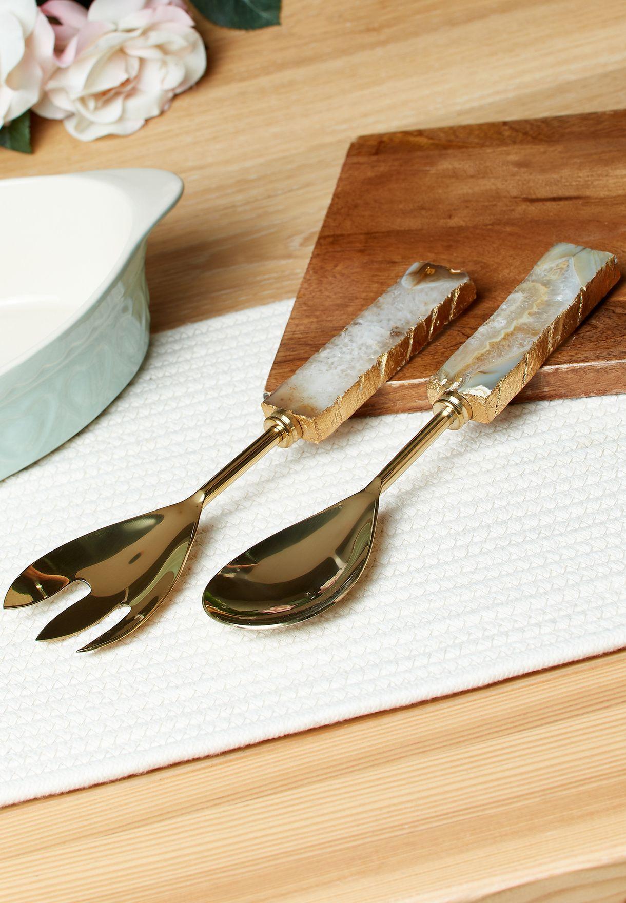 ادوات طعام ملعقة وشوكة