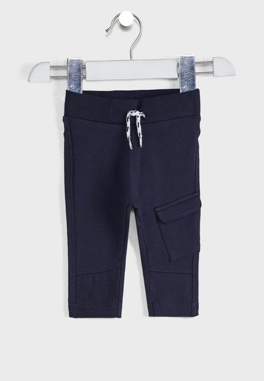 Kids Tie Waist Trousers