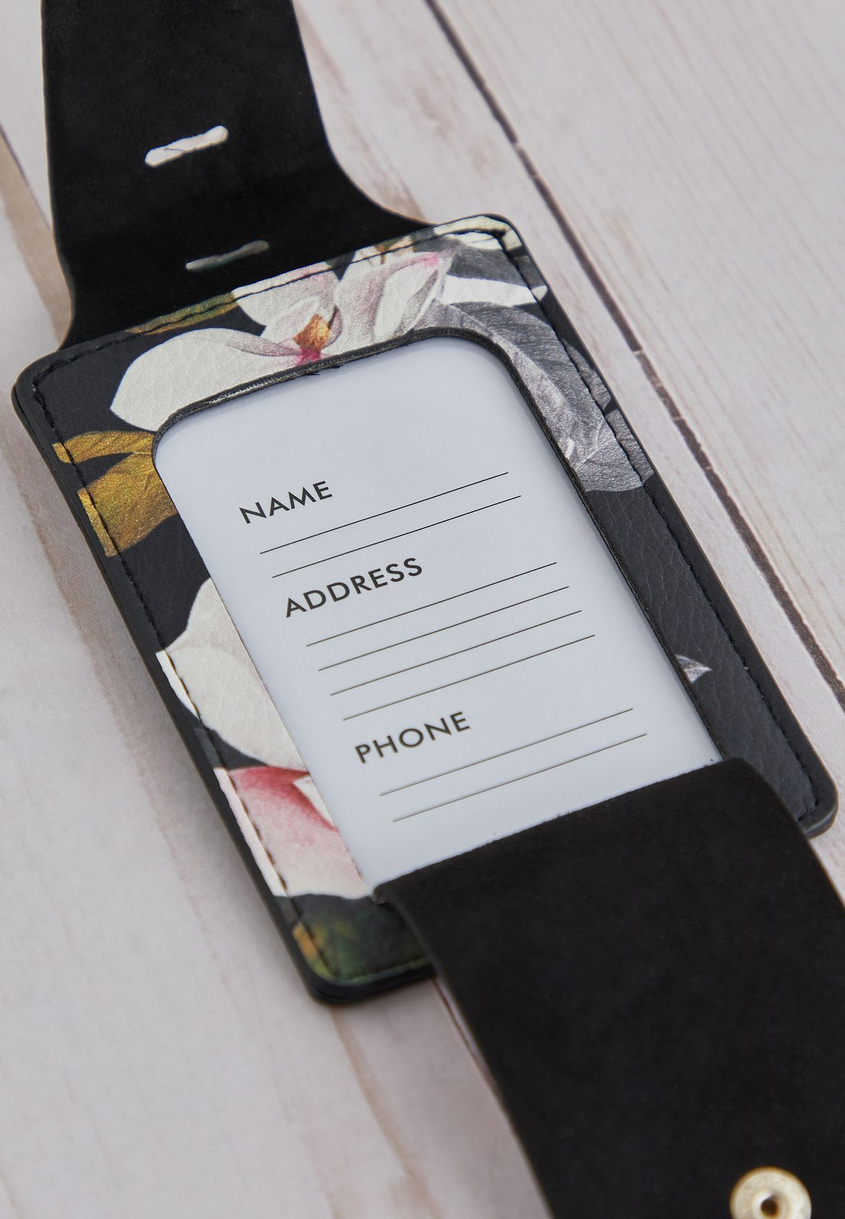 Floral Passport Holder & Luggage Tag