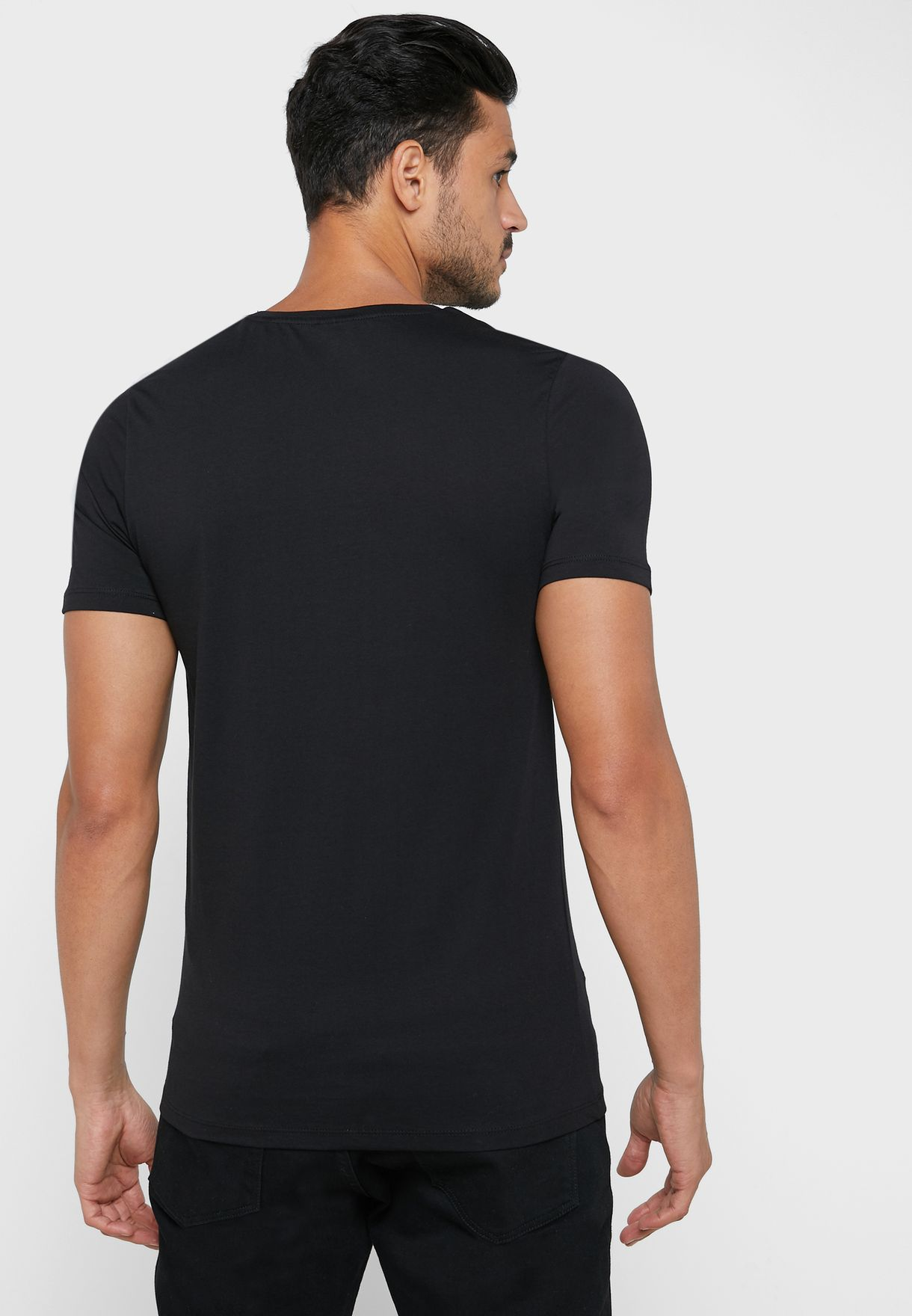 Cloak Slim Fit Crew Neck T-Shirt