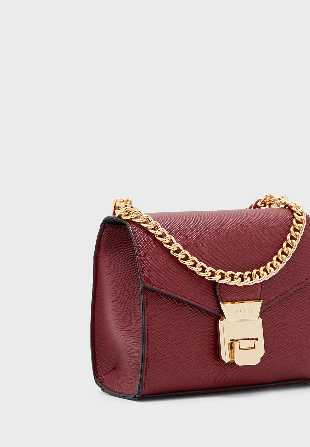 Sarse Push Lock Flap Over Crossbody