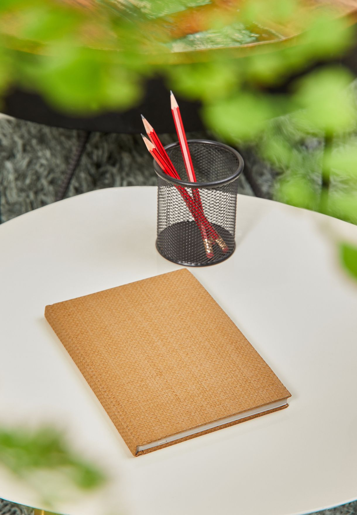 A5 Rattan Oxford Notebook