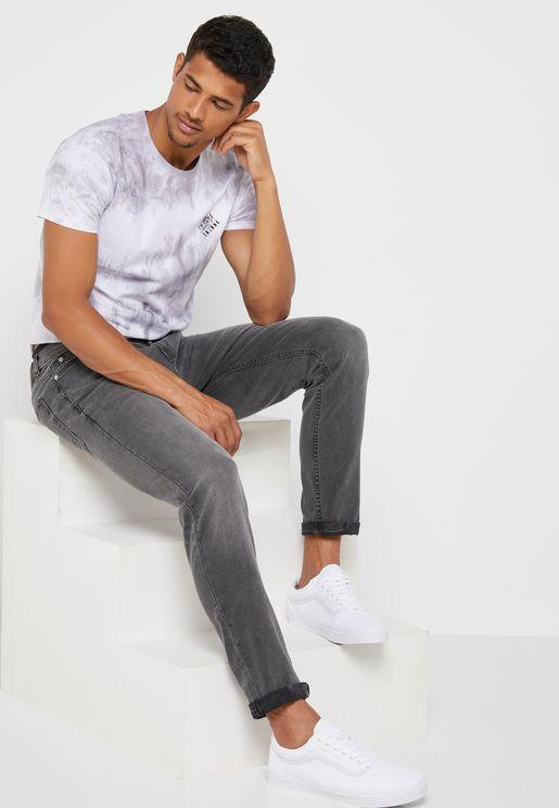 035bc84af1e Carter Mid Wash Tapered Fit Jeans