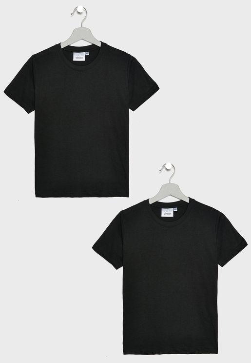 Kids 2 Pack Essential T-Shirt