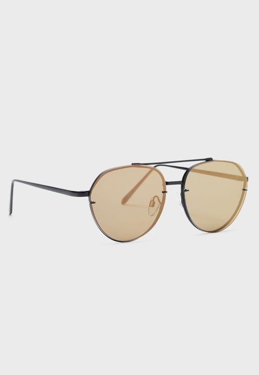 Perwen Aviator Sunglasses