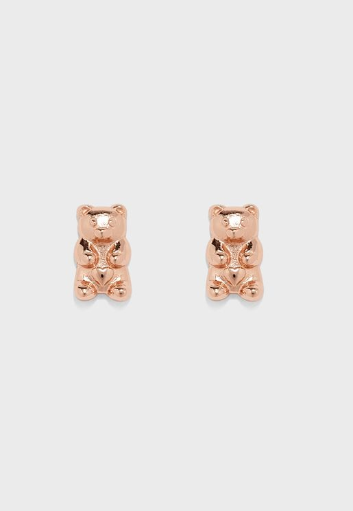 Teddy Stud Earrings