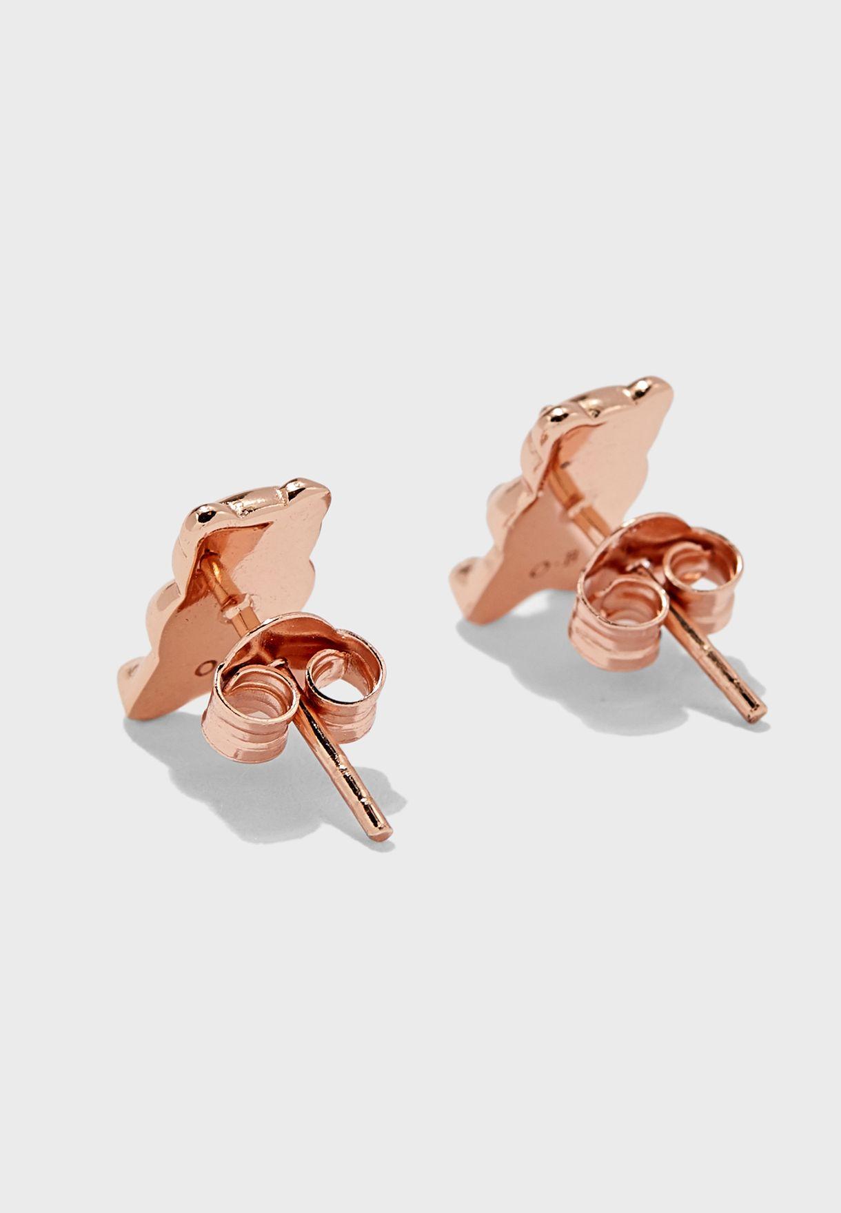 Teddy Stud Earrings