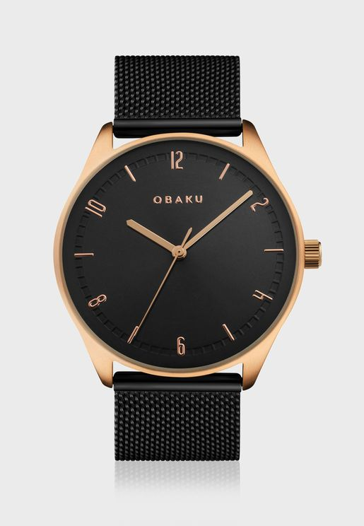 Ager Analog Watch