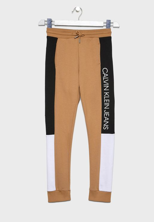 Kids Color Block Sweatpants