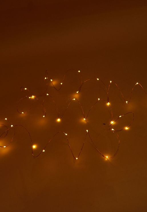 سلك اضاءة بطول 10 متر
