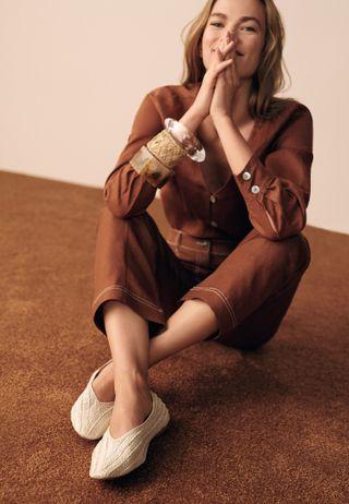 12f023f75 Shop Lacoste white L.Ydro Slip On 37CFA0022-286 for Women in UAE ...