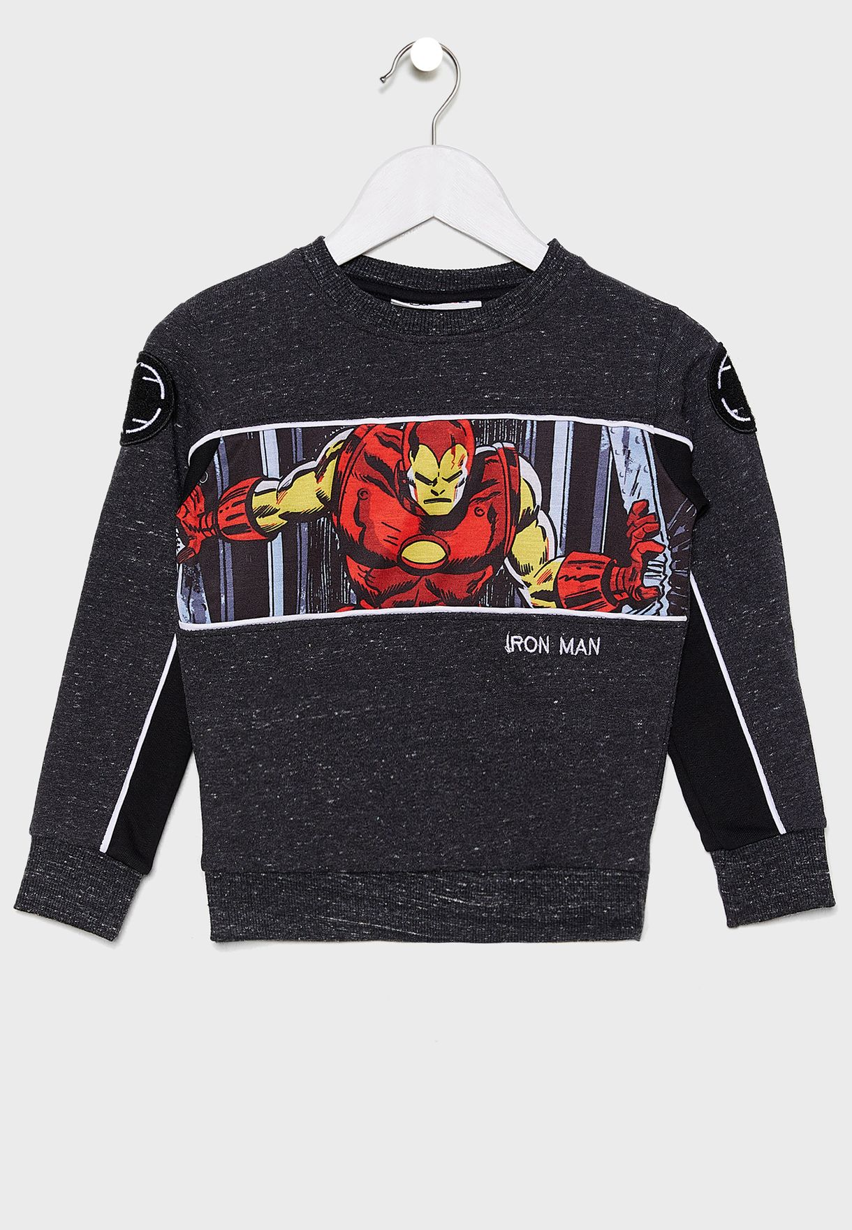 Kids Marvel Iron Man Sweatshirt