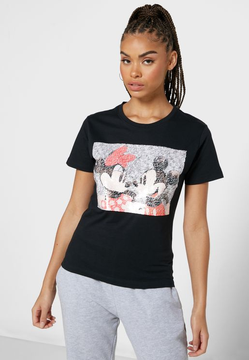 Mickey & Minnie Mouse T-Shirt