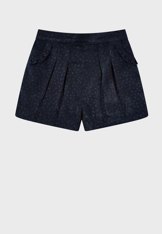 Infant Satin Whitney Casual Shorts